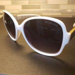Michael Kors Gradient MK White Sunglasses